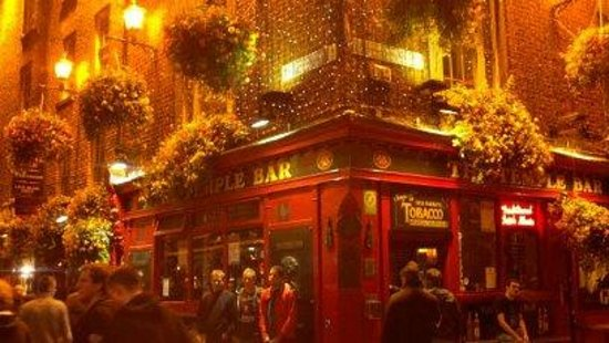 Temple Bar Hotel: A pub on Temple Bar