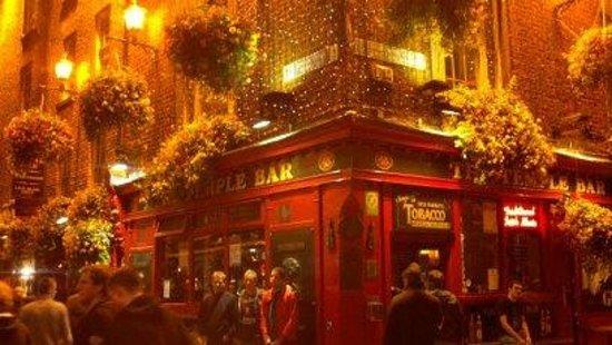 Temple Bar Hotel: A pub on Temple Bar 