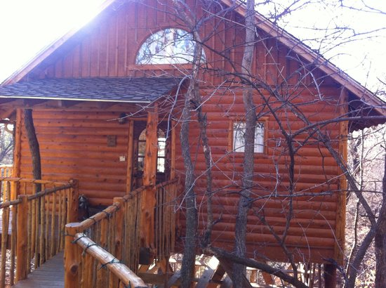 Treehouse Cottages: The hideaway treehouse