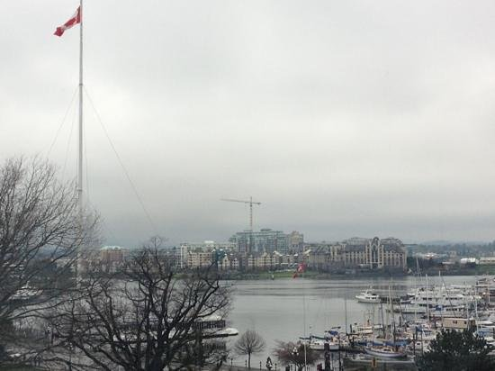 Santiago's Cafe: Santiago Cafe is very close to Victoria's Inner Harbour