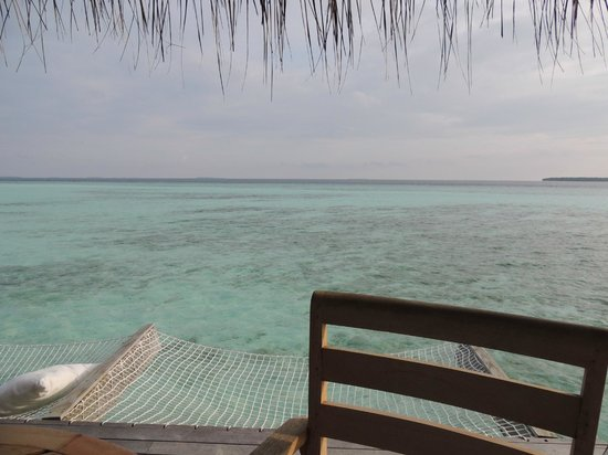 Anantara Kihavah Maldives Villas: Porch view