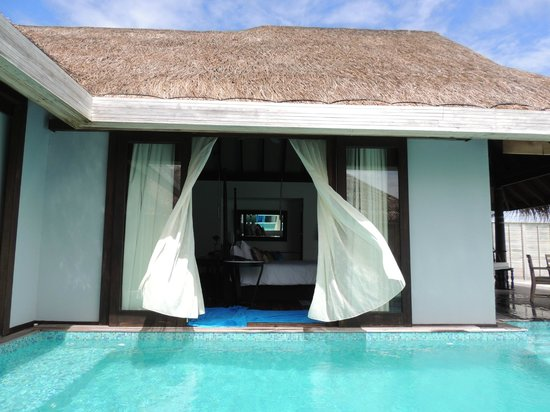Anantara Kihavah Maldives Villas: Great breezes