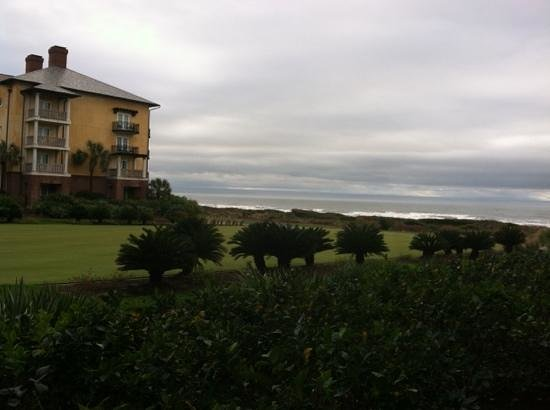 The Sanctuary Hotel at Kiawah Island Golf Resort: view from 1st floor dunes view room