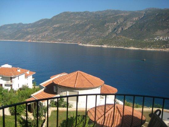 Deniz Feneri Lighthouse: View from the bedroom balcony