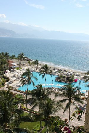 Marriott Puerto Vallarta Resort & Spa: View from room