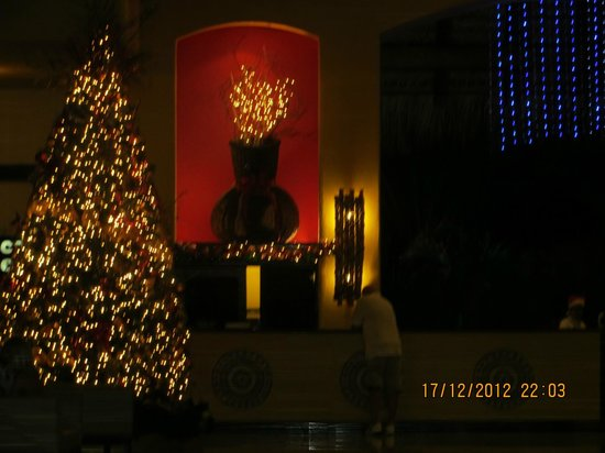 Caribe Club Princess Beach Resort & Spa: Christmas Decoration in lobby