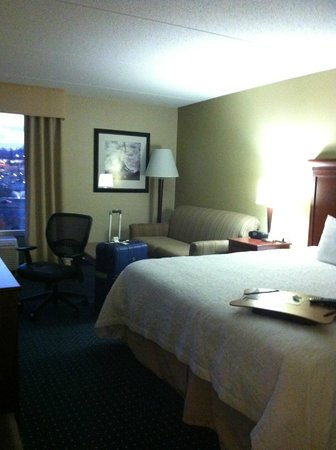Hampton Inn Dulles-Cascades: Nice and Comfy