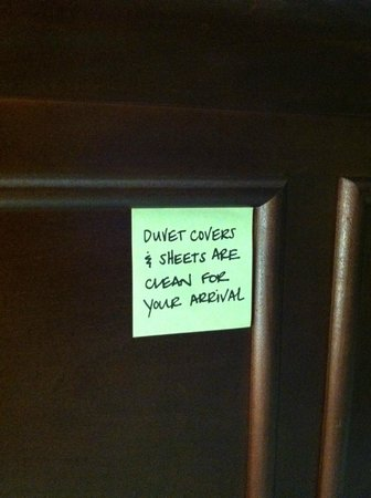 Hampton Inn Dulles-Cascades: And they were...