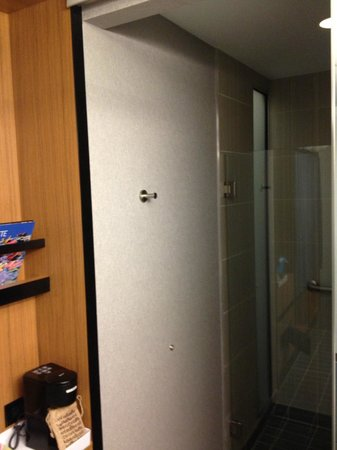 Aloft Charlotte Uptown at the EpiCentre : Standard Bathroom