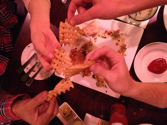 Byers Street Bistro : Best waffle fries we've ever had!