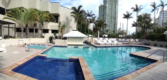 QT Gold Coast: lovely pool