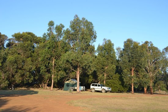 Western KI Caravan Park and Wildlife Reserve: Our fabulous camping spot!