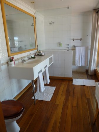 Savute Safari Lodge: Bathroom