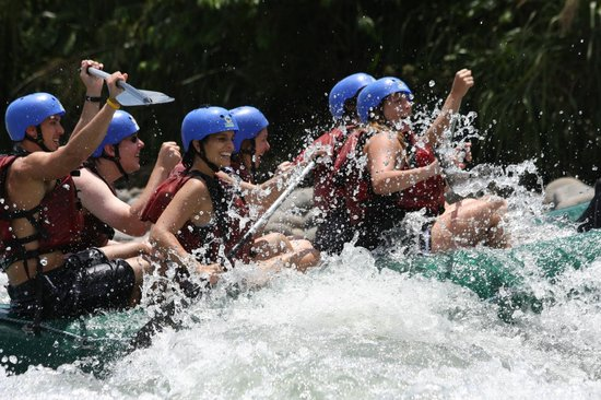 Bill Beard's Costa Rica: White water raft trip
