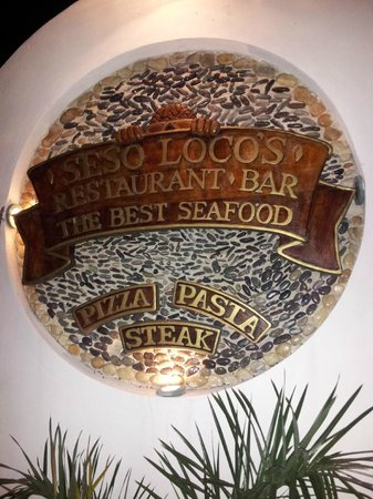 Restaurant Sesoloco: Seso Loco's - mid island on Rte as you head South. Open for dinner. Great Food :0)