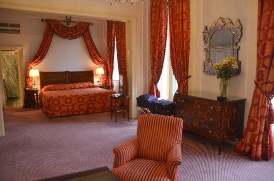Villa d'Este: The sleeping area
