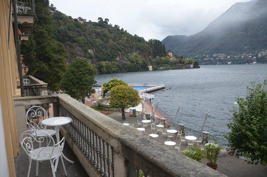 Villa d'Este: View from the room