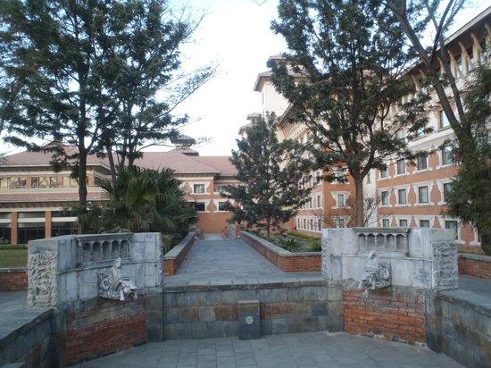 Hyatt Regency Kathmandu: ホテル外観