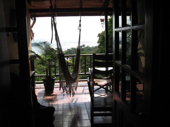Villas Nicolas: Vue de la chambre