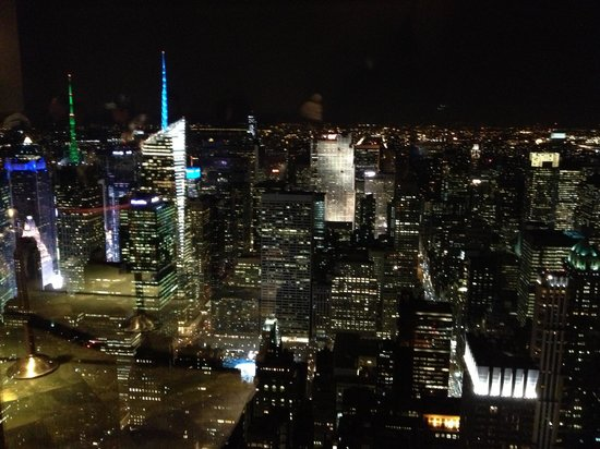 New York Skyride : View from the 86th floor