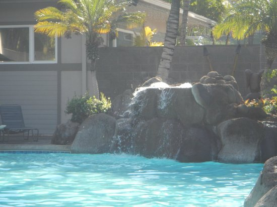 Worldmark Kihei: Pool waterfall