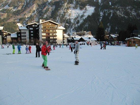 Chamonix Sport Aventure : Chamonix snowboard lesson with Gaby