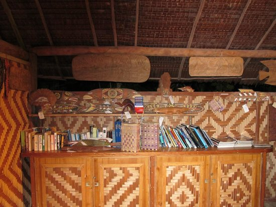 Lissenung Island Resort: The library