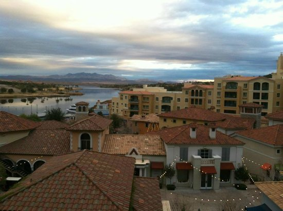 Hilton Lake Las Vegas Resort & Spa: View from our room.
