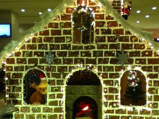 Duxton Hotel Saigon: Ginger bread house.. size of large Wendy House