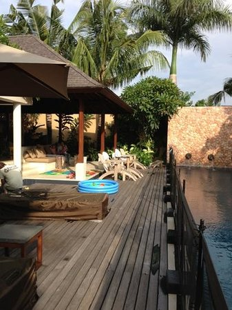 Villa Sakti: fantastic outdoor area