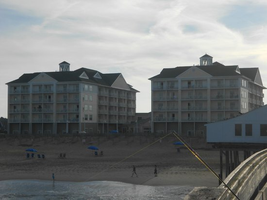 Hilton Garden Inn Outer Banks/Kitty Hawk: View from pier