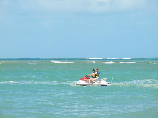 El San Juan Resort & Casino, A Hilton Hotel: We rented a wave runner right in front of the resort