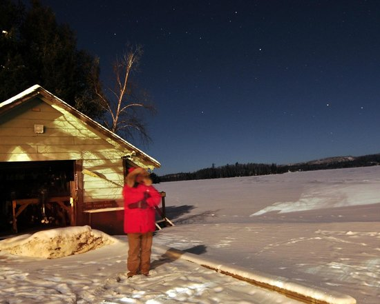 Gunflint Lodge: Near midnight on Dec 31st 2012