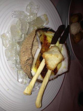 Wahso : coconut creme brûlée