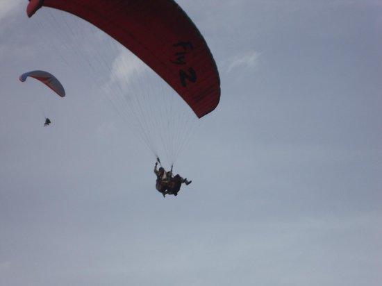 Solang-Nullah: solang valley pics paragliding