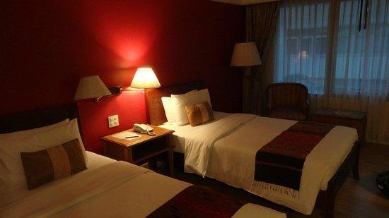 Le Siam Hotel: 室内