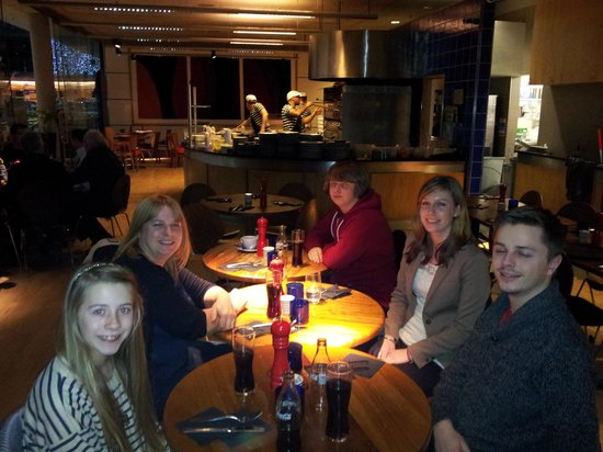 Pizza Express - Norwich Forum: family meal