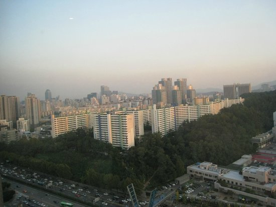 JW Marriott Hotel Seoul: View from our room