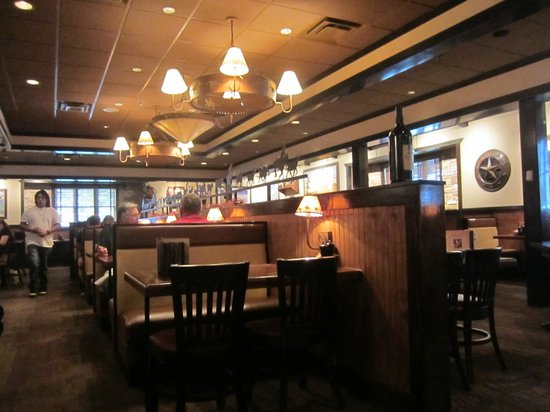 LongHorn Steakhouse: Interior of the Restaurant.