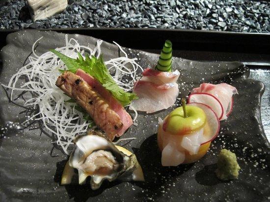 n/naka: 13-course - sashimi
