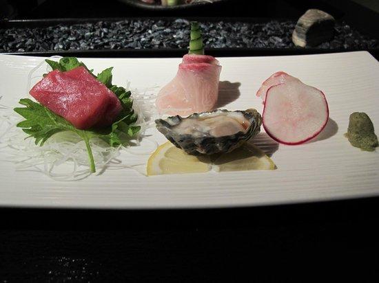 n/naka: 9-course sashimi