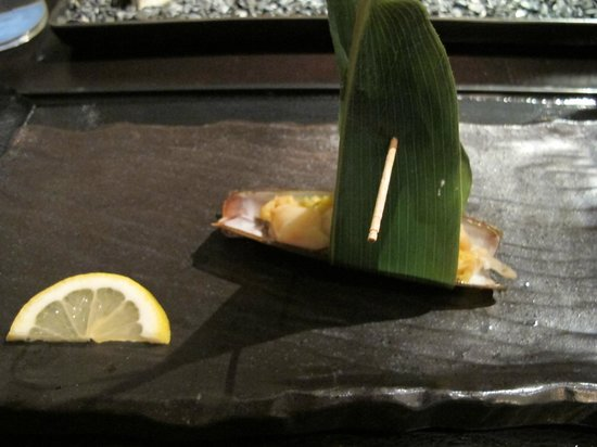 n/naka: 13-course - razor clam