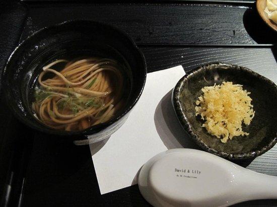 n/naka: 13-course - soba