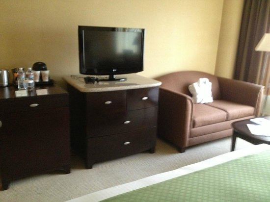 DoubleTree by Hilton Orange County Airport: Room w/pullout sleeper