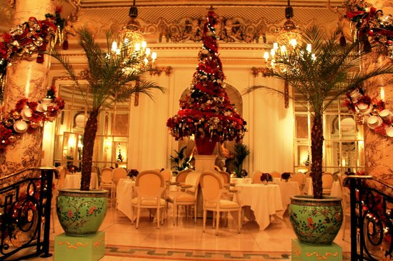 The Ritz London: Palm Court area