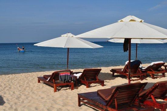 Long Beach Resort Phu Quoc: Sleeping on the beach!