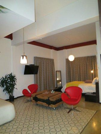 Tantalo Hotel / Kitchen / Roofbar: Room 5