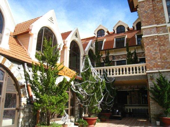 Saphir Dalat Hotel: 外觀
