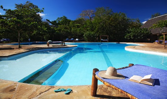 Big Pool at Kinondo Kwetu