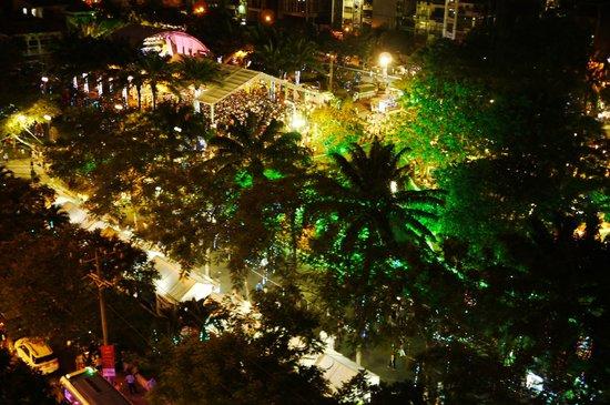 Liberty Hotel Saigon Parkview: 跨年夜景